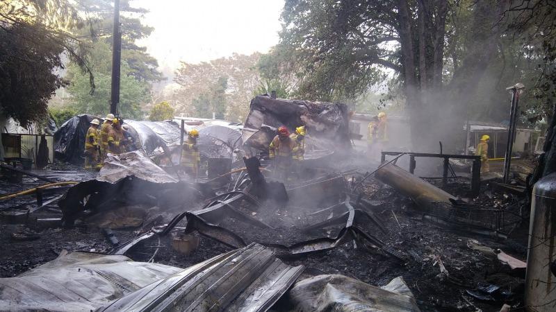 Phillipsville fire