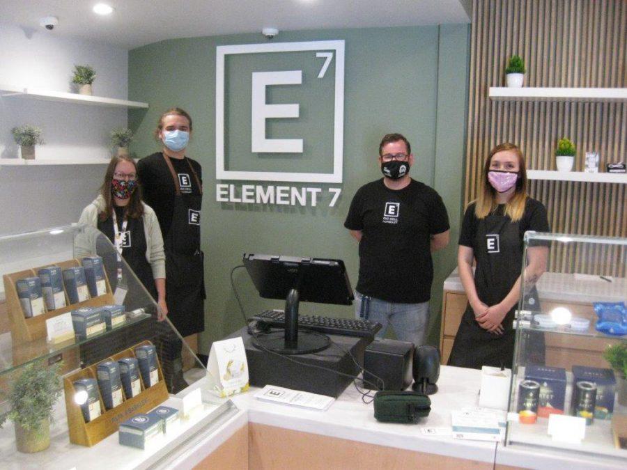 Element 7 dispensary Rio Dell