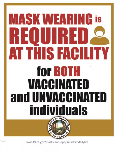 Mask Wearing Required poster