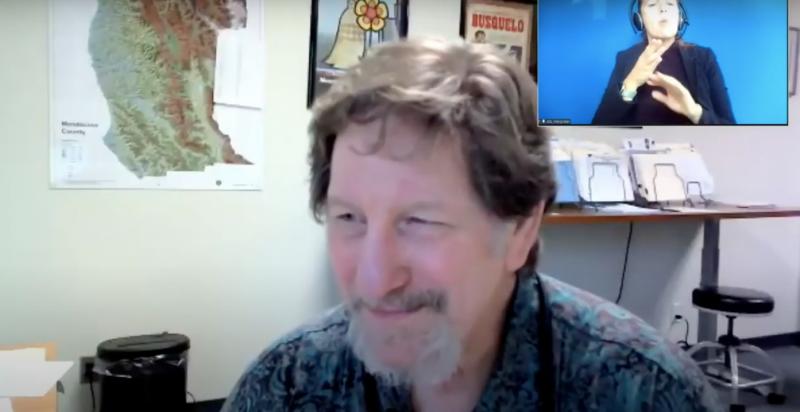 Mendocino County Public Health Officer Doctor Andy Coren