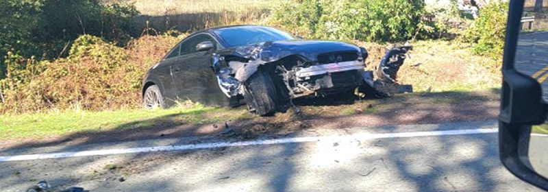 Crash on Branscomb road
